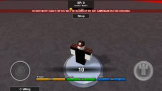 ROBLOX Pocket Edition Hunger Games