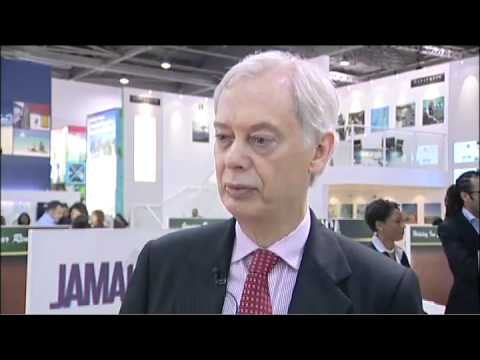 Richard Whitfield, Managing Director, Half Moon Hotels & Resorts, Jamaica @ WTM 2010