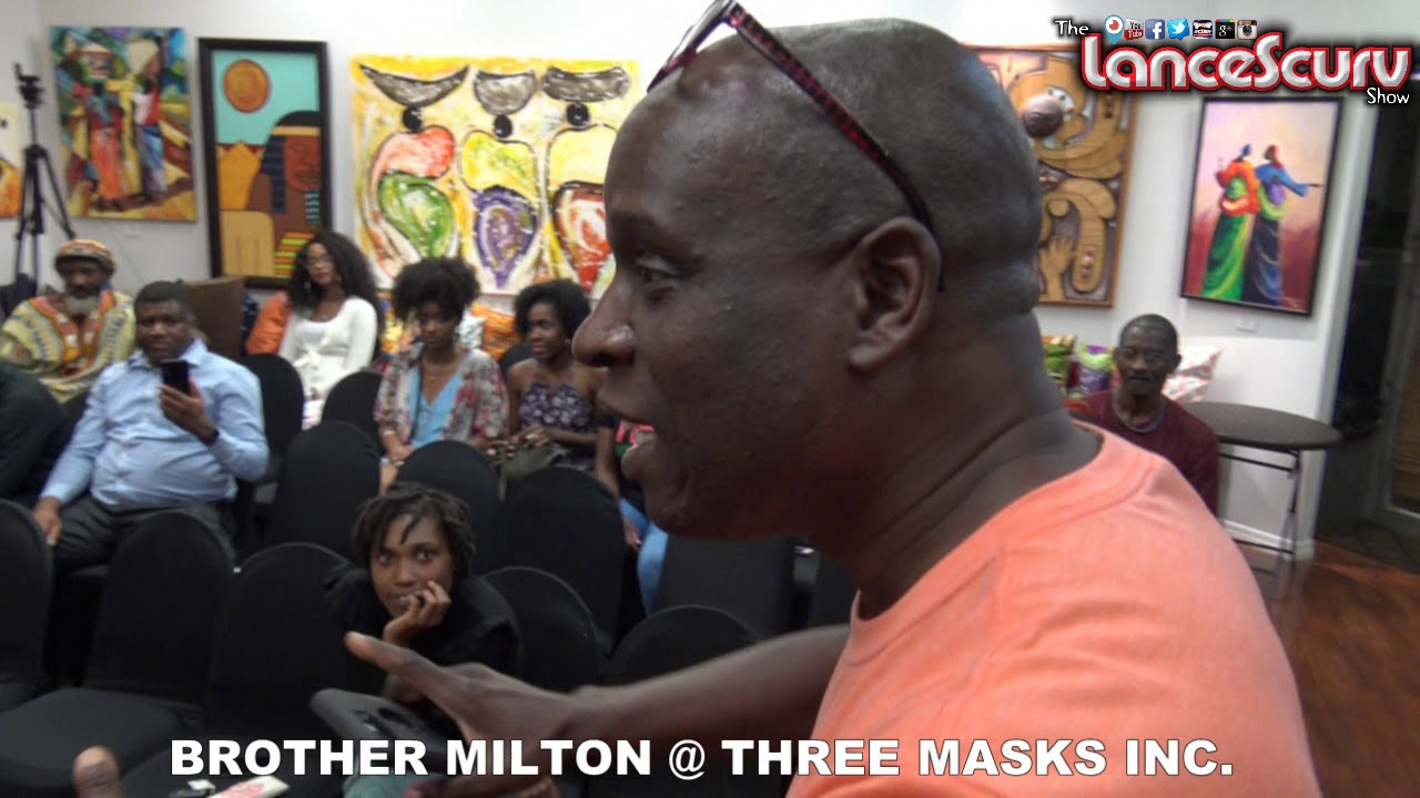 Brother Milton Shares His Spoken Word At The Three Masks Inc. Cultural Center - The LanceScurv Show