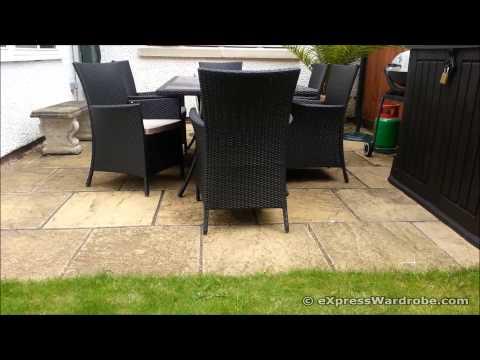 Panama Garden Furniture Set Design - Homebase