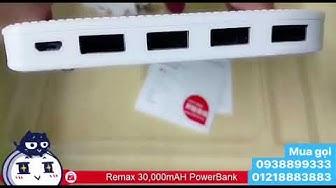 Pin sạc dự phòng Remax Proda Notebook 30000mah bảo hành 12 tháng