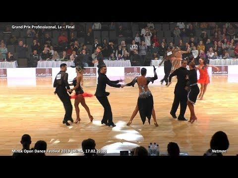 Grand Prix Professional, La Final / Minsk Open Dance Festival 2019