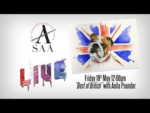"SAA LIVE - ""Best of British"" with Anita Pounder"