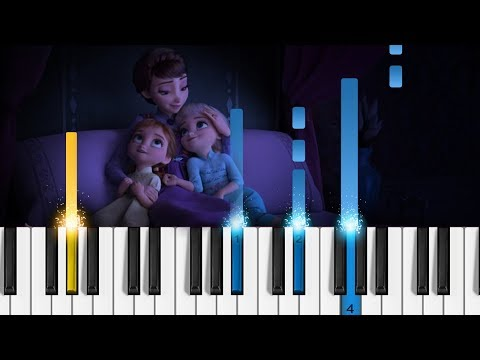 """Frozen 2 - """"All Is Found"""" - EASY Piano Tutorial"""
