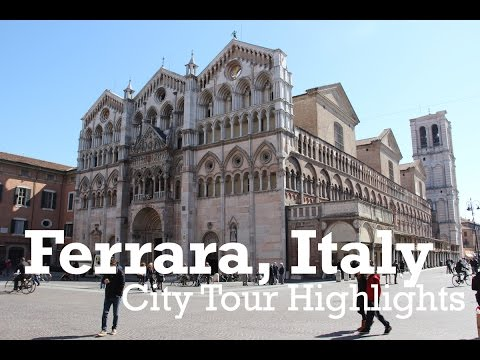 Ferrara Italy City Highlights Vlog