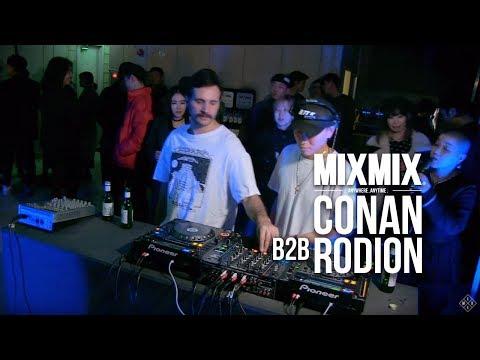 DJ Conan (b2b Rodion)     MIXMIX SEOUL