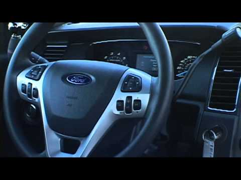 Stivers Ford Police Interceptors Interior Features YouTube