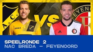 EDIVISIE | Speelronde 2: NAC Breda - Feyenoord