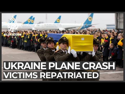 Bodies of Ukrainian