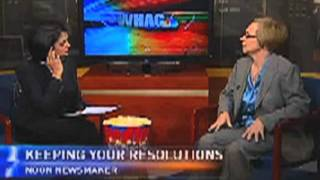 Kay Loughrey appears on WHAG-TV in Washington, D.C.