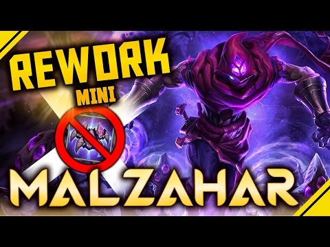Rework MALZAHAR ¿OP MIDLANER? Nerf W pero MÁS AP - Minirework | Noticias League Of Legends LoL