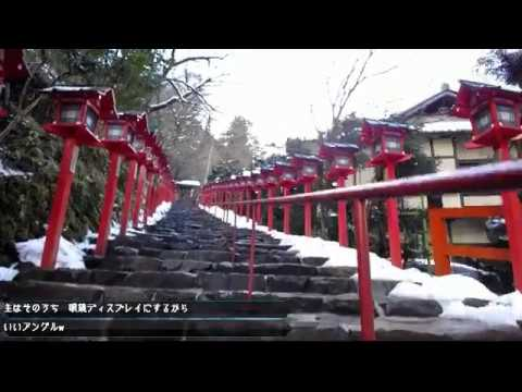【Broadcasting】CrossOver Kyoto,Kifune Shrine - Gion Shijo Train&Walking 2017【3axis brushless gimbal】