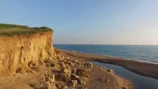 Amazing scenery at Freshwater Beach Holiday Park on the Jurassic Coast in Dorset