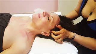 Chinese powerful Head Massage  - ASMR video