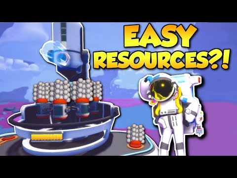 EASY RESOURCES!? - Astroneer Multiplayer Gameplay - Mineral Extractor Update!