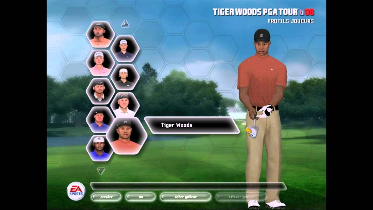 tiger woods pga tour 08 pc requirements