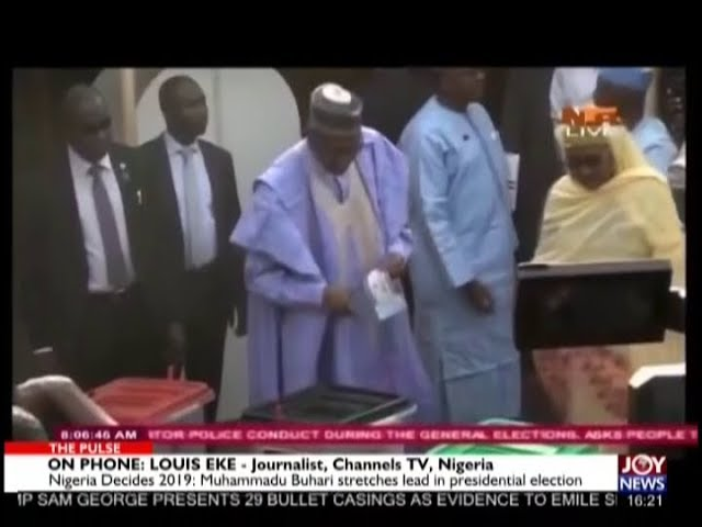 Nigeria Decides 2019 – The Pulse on JoyNews (26-2-19)