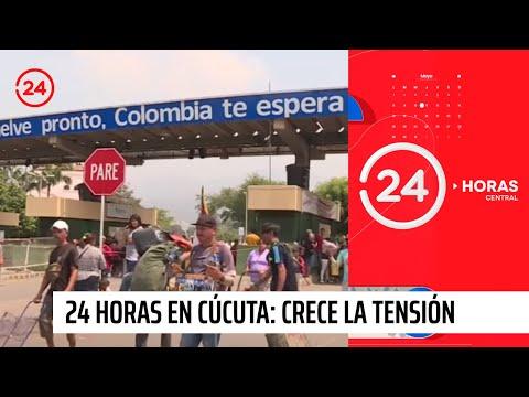 """24 Horas en Cúcuta: Crece la tensión en la frontera con Venezuela a horas del """"Día D"""""""