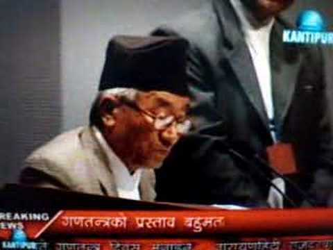Nepali News..Nepal declared as a republic..May 28th