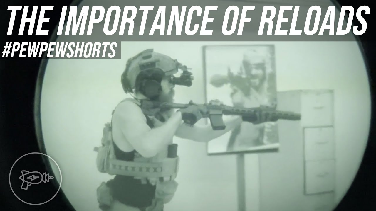 The Importance of Tac Reloads... 😅 [Pew Pew Shorts]