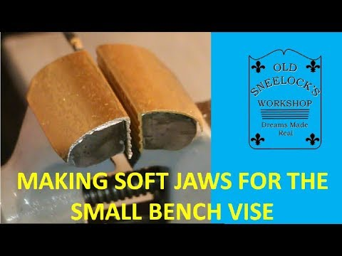 MAKING A SET OF SOFT JAWS FOR THE BENCH VISE