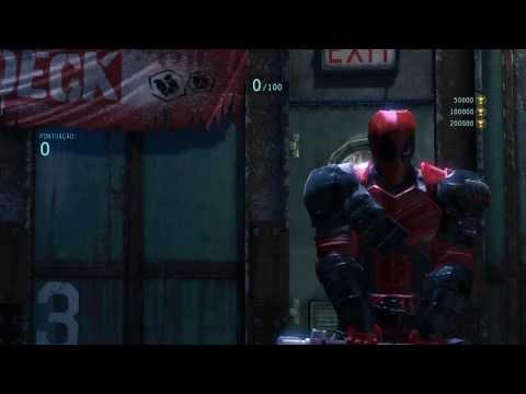 Batman Arkham Origins Deadpool Mod (Deathstroke)