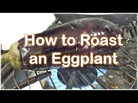 How to Roast an Eggplant on stove | Fire by RinkusRasoi