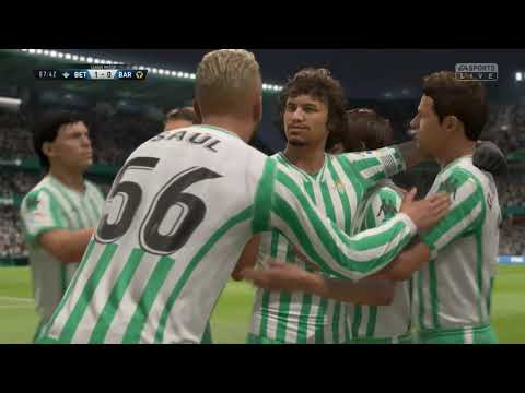 FIFA 19 Pro Clubs - Real Betis - Race to Division 1 - Episode 2