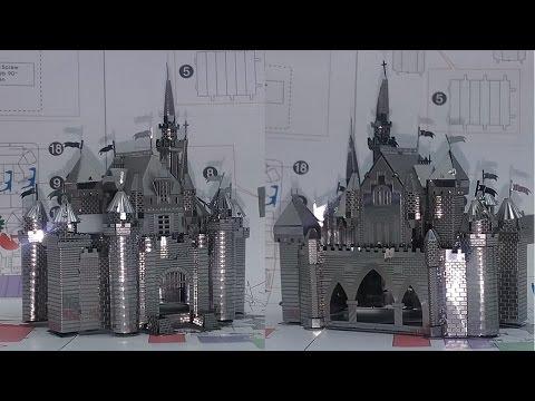 Metal Earth Build - Sleeping Beauty Castle - Disney Exclusive
