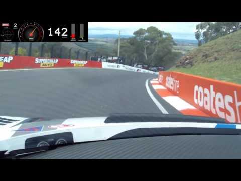 Bathurst Onboard Lap GT3 Audi R8 LMS (2:01.840 ) P2 Qualy fastest Audi R8 laptime ever