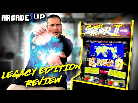 Arcade1Up STREET FIGHTER Legacy Cabinet REVIEW from Gem Mint Collectibles