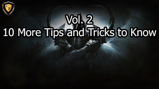 [D3] 10 More Tips and Tricks to Know (Vol. 2)