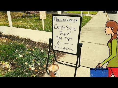 Shop With Me At Estate Sales! Two Sales, One Morning, Vintage Finds