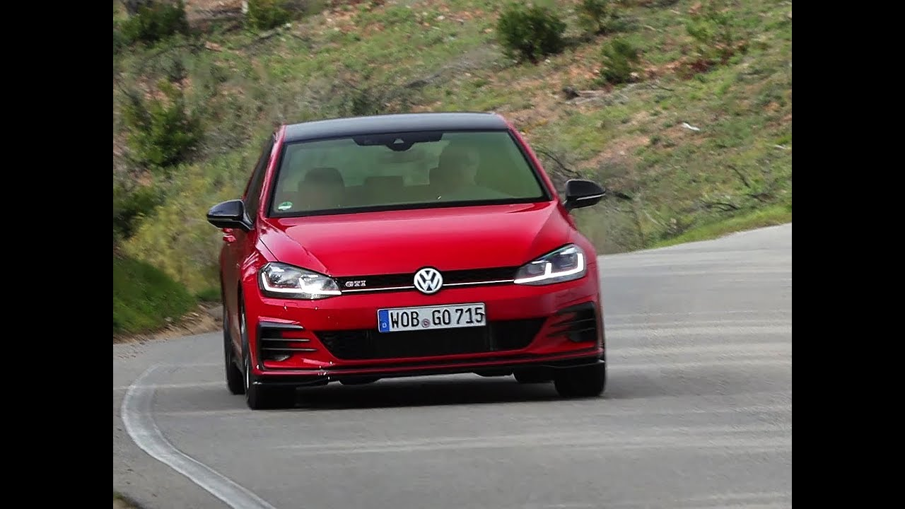 Essai Volkswagen Golf Gti Tcr 2019 Youtube