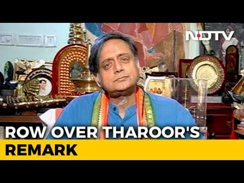 """Why Should I Apologise?"": Shashi Tharoor On His ""Hindu Pakistan"" Comment"