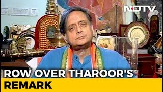 """""""Why Should I Apologise?"""": Shashi Tharoor On His """"Hindu Pakistan"""" Comment"""