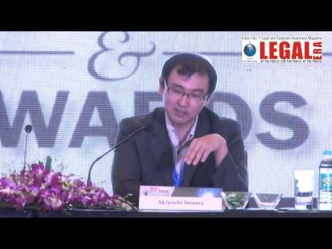 Akiyoshi Imaura, Director IPR, Jetro At Legal Era IPR Conclave 2014