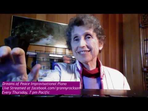 Dreams of Peace Improvisational Piano, Beth Green, 10-10-19