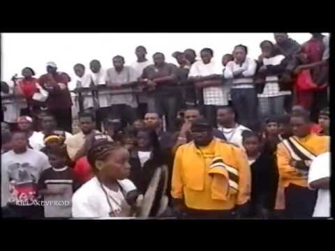 Cass Tech v.s. Cody v.s. Detroit School of Arts - Percussion Battle - 2003