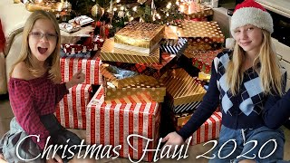 Francesca and Leah's Christmas Haul 2020!