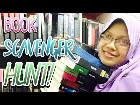 BOOK SCAVENGER HUNT! | I WIN!