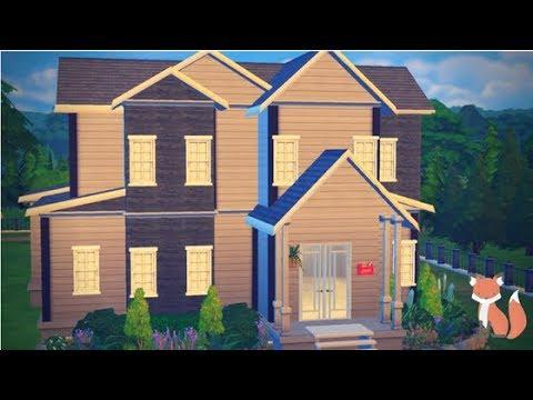 The Sims 4 |Speed Build| HillSide Residence Part 1