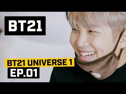 [BT21] Making Of BT21 - EP.01