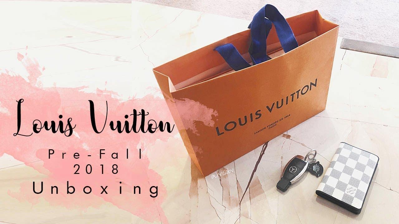 77624a6a8378 Louis Vuitton    Mens Pre Fall 2018 Unboxing - Pochette Apollo - YouTube