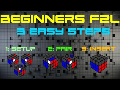 Beginners F2L In 3 Easy Steps