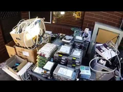 Picking up E Waste - A Week in the Life
