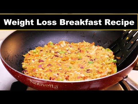 One tsp Oil Breakfast Recipe for Weight Loss | झटपट वजन कम करने वाला हेल्दी नाश्ता | ASMR Cooking