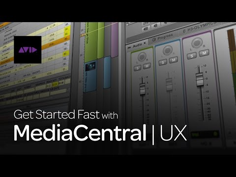 What is MediaCentral | UX?
