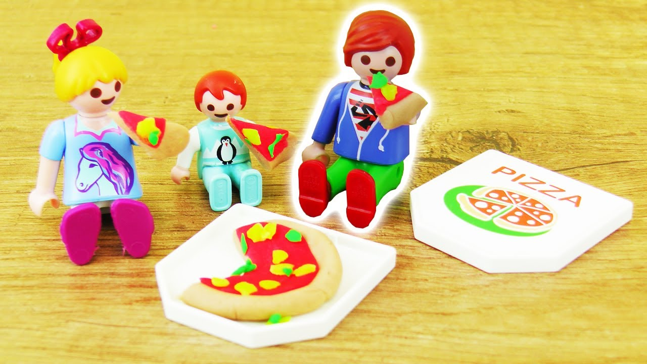 playmobil pizza selber machen pimp my playmobil puppen. Black Bedroom Furniture Sets. Home Design Ideas