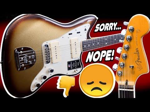 I Didn't Like The New Jazzmaster   2019 Fender American Ultra Jazzmaster Mocha Burst   Review + Demo